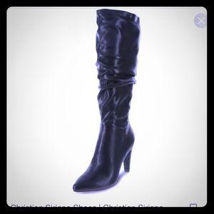 Christian Siriano tall boots